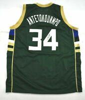 Giannis Antetokounmpo Autographed Signed NBA Jersey Milwaukee Bucks JSA COA