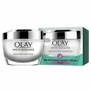 Olay Night Cream White Radiance Intense Moisturising Brightening Cream, 50g