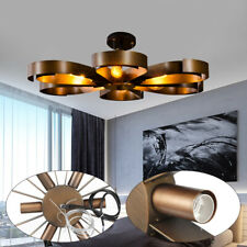 Vintage Iron Ceiling Light Pendant Lamp Flower Lighting Chandelier Bronze GOOD