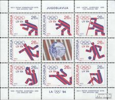 Joegoslavië 2075-2082 Velletje postfris 1984 Kampioenen
