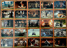 "Indiana Jonesâ""¢ Trading Cards The Last Crusade Topps Collectors Set"