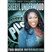 Platinum Comedy Series Sheryl Underwood: Too Much Information On DVD E89