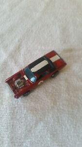Hot Wheels REDLINE vintage 1969 SPOILERS Red TNT BIRD dark interior HONG KONG