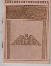 Programme Theatre of the Michodiere Flight Bridal Francis Croisset 1932-1933