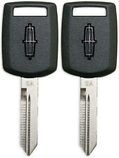 2 NEW LINCOLN OEM PATS Transponder 4D63 Chip Key Blank - SAME DAY SHIPPING