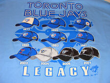 Toronto Blue Jays Legacy Hat T Shirt Baseball MLB XL