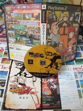 Playstation 2 PS2:Naruto Shippuden - Narutimate Accel [TOP MANGA] COMPLET - Jap