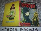 DIABOLIK PRIMA 1°SERIE ORIGINALE N.17 DEL 1964 INGOGLIA MB/OTTIMO TIPO KRIMINAL