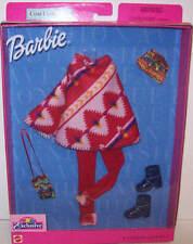 "Barbie Doll ""Tru"" Exclusive Fashion Avenue Pancho Coat Boots Purse Hat 2001 New"