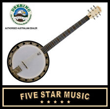 Deering Goodtime G6s Open Back 6 String Banjo Maple USA Made Openback