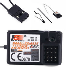 Standard 2.4Ghz 3-Ch Receiver for FlySky Ansmann HobbyKing Transmitters New Sale