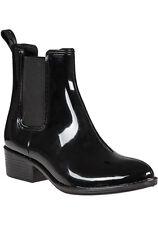 Jeffrey Campbell 'Stormy' Rain Boots, Shiny Black, Size Women 8