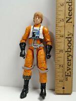 "Star Wars Black Series 6"" Action Figure Luke Skywalker 2013 Loose Authentic Rare"
