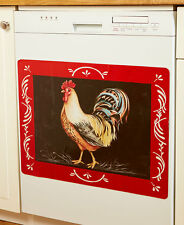 French Country Barn Rooster Dishwasher Magnet Cover Country Farmhouse Magnet