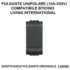 COMMUTATORE DOPPIO TASTO L4027  BTICINO LIVING INTERNATIONAL
