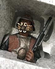 Star Wars Gentle Giant Statue Bust Lando Calrissian Skiff Guard - #3516 of 4000