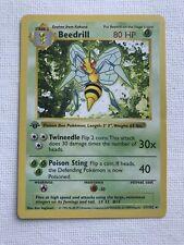 New listing Beedrill #17 1st Edition Shadowless Pokemon Card