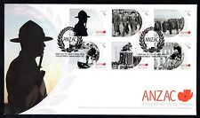 New Zealand 2010 FDC ANZAC Remembrance 3rd Series
