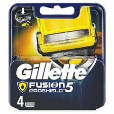 4 x Gillette Fusion ProShield Men's Replacement Razor Blades & Precision Trimmer