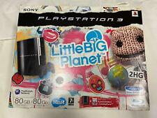 Playstation 3 Console Boxed Little Big Planet Edition