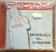 PIOTTA / DEMOCRAZIA DEL MICROFONO - CD (2000 + bonus tracks) SIGILLATO / SEALED