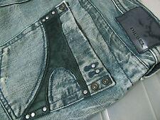 *HOT! 100% AUTHENTIC Men's DIESEL TIMMEN Art 8XJ Slim STRAIGHT LEG Jeans 32 x 32