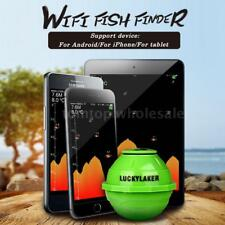 LUCKY Sonar Wireless WIFI Fish Finder Detector 50M/130ft For IOS & Android Alert