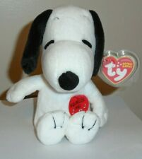Ty Beanie Baby ~ SNOOPY (Plays Music)(Peanuts Cartoon)(8 Inch) MWMT