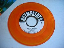 w PICTURE SLEEVE The Eyeliners Do the Zombie 1997 45rpm VG++ Orange Vinyl