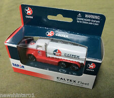 #ZZ.  CHEVRON  NEW  ZEALAND CALTEX  DIECAST METAL  MODEL  PETROL TANKER