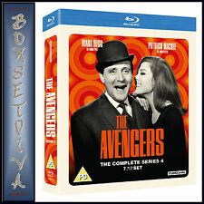 THE AVENGERS - COMPLETE SERIES 4  **BRAND NEW BLU-RAY**