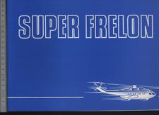 (192) Brochure hélicoptère Aircraft Helicopter aerospatiale Super Frelon