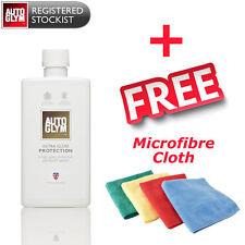 Autoglym Extra Gloss Protection 500ml Super Tough Polish Microfibre Cloth