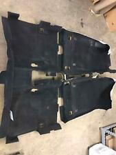 2014 DODGE DART FLOOR CARPETING COMPLETE BLACK FOR CABIN AREA FRONT AND REAR