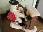 2005 HALLMARK Jingle Pals Dance Snowman Piano Singing & Lights Work No Animation