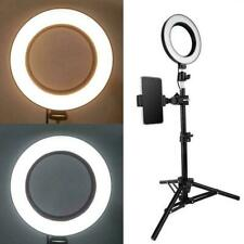 Anillo de 6 pulgadas LED Luz de Vídeo Lámpara de relleno para selfie para la fotografía D8D3