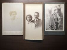 Rare Two Cabinet Cards Of African American Subjects & Bonus Image Of Couple