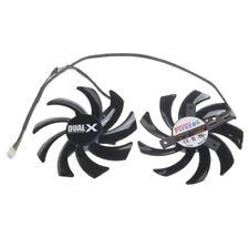 Repairist 2Pcs/set GTX1060/1070 GPU VGA Card Cooler Fan for MAXSUN GTX1070 GTX 1