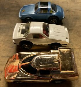 Vintage Lot Of Speed Burners And Darda Cars.