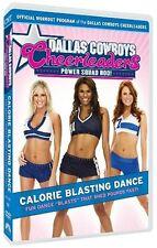 NEW - Dallas Cowboys Cheerleaders Power Squad Bod! - Calorie Blasting Dance
