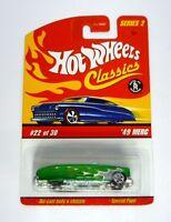 HOT WHEELS '49 MERC #22 of 30 Classics Series 2 Die-Cast Car MOC COMPLETE 2005