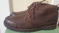 Men's Timberland Earthkeepers Chukka Dk Brn Leather Waterproof 10.5 Boots
