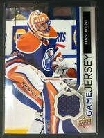 2014-15 Upper Deck Series One Game Jersey Ben Scrivens