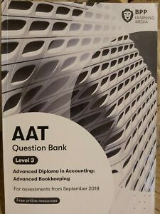 AAT Question Bank Level 3 Advanced  Bookkeeping.