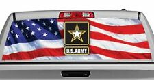Truck Rear Window Decal Graphic [Military / U.S. Army 2] 20x65in DC08504