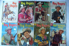 Roy Rogers comic books Silver/ Golden age lot 8 issues good very good Daisy ad.