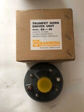 Sanming SD-40 Trumpet Horn Driver Unit 40 Watts  16 OHMS