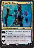 TEFERI, TIMEBENDER (Foil) +5 cards Dominaria MTG Gold Planeswalker Mythic Rare