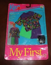 Vintage Ken Doll- My First Fashion -Summer Shorts & Shirt- New In Package