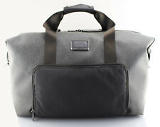 TUMI 'Alpha 2' Earl Grey Canvas Double Expansion Satchel - 22159EG2